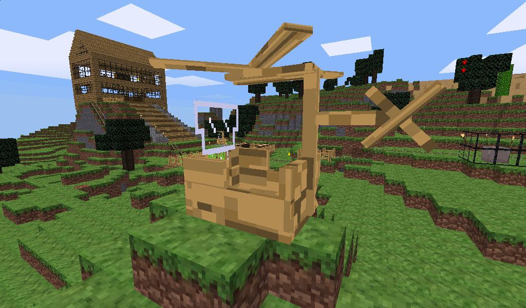 Minetest Mod Hubschrauber